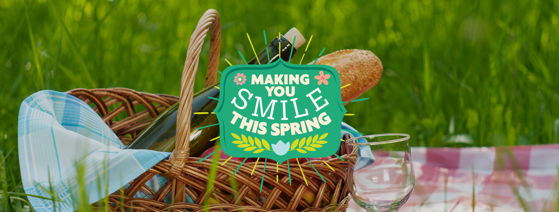 Making you smile this spring