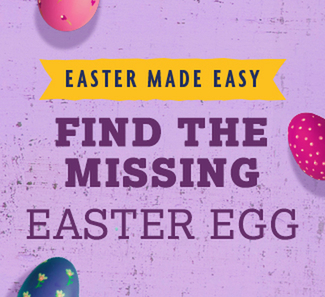 Find the missing Easter egg!