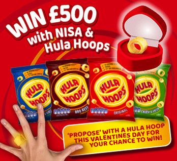 Win £500 with Hula Hoops