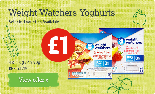Weight Watchers Yogurts