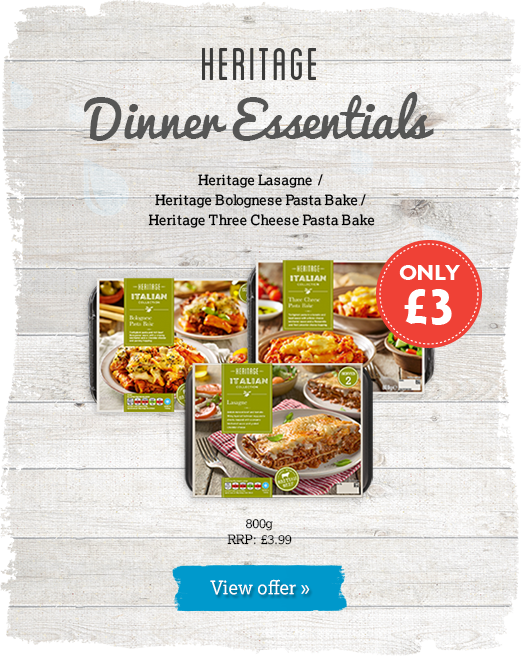 Heritage Ready Meals