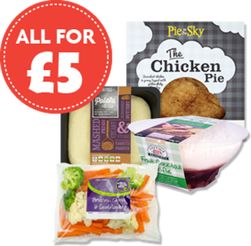Meal Deal for £5