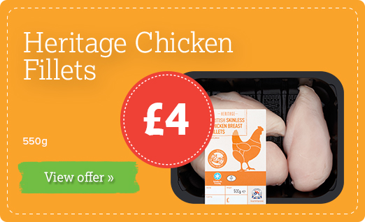 Heritage Chicken Breast Fillets