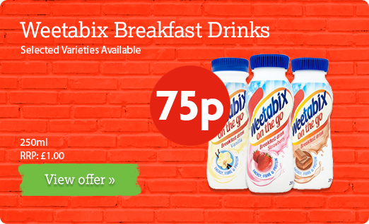 Weetabix Breakfast Drinks