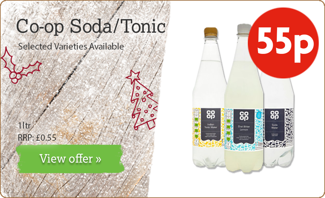 Co-op Tonic & Soda