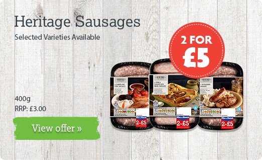 Heritage Sausages