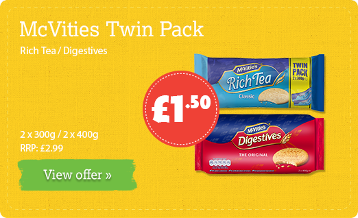 McVities Twin Pack