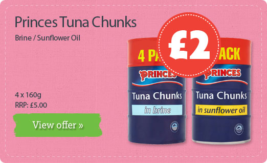 Princes Tuna Chunks