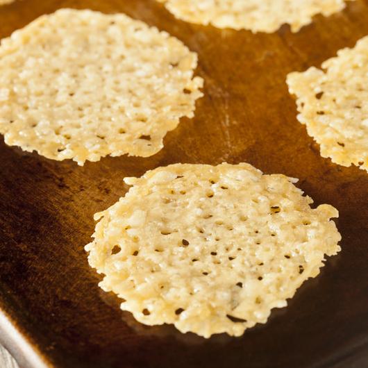 Parmesan Crisps - Snacks - Recipe Ideas from Nisa