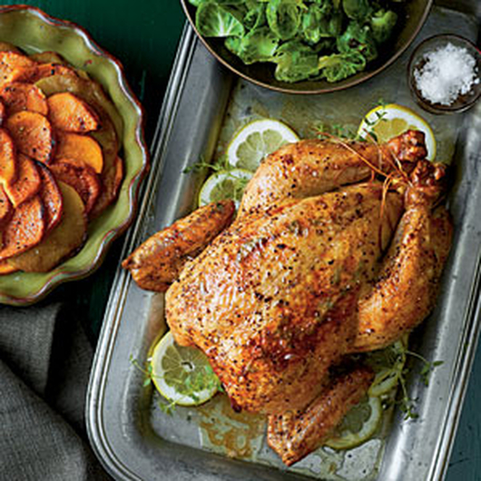 Apple-y Chicken with Sweet Potatoes - Mains - Recipe Ideas from Nisa