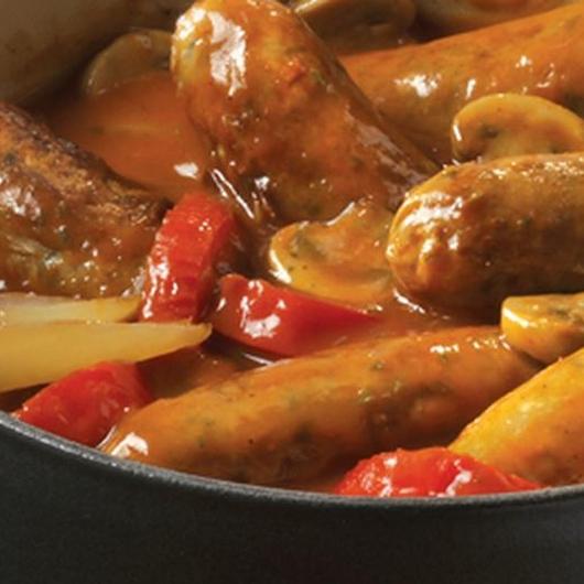 Sausage Casserole - Mains - Recipe Ideas from Nisa