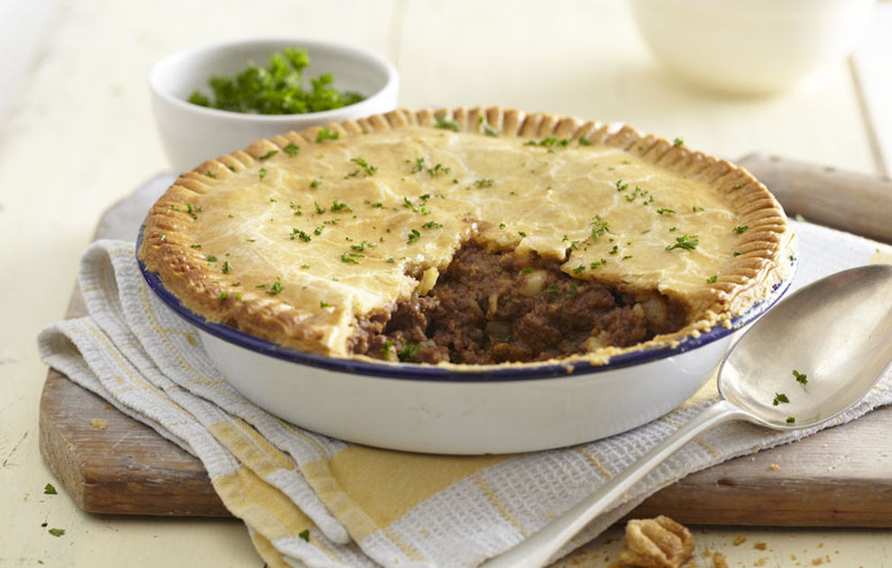 Meat & Potato Pie - A Quick & Easy Recipe